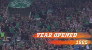 EuroLeague: Αφιέρωμα στο ΟΑΚΑ με γκάφα στην χρονιά που έκανε εγκαίνια