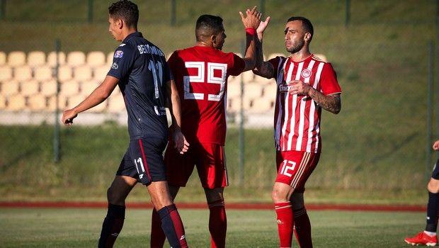 Ολυμπιακός - Πογκόν Στσέτσιν 1-1: Καλή για 45 λεπτά η ομαδα του Μαρτίνς