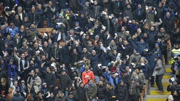 Ίντερ: Βανδαλισμοί οπαδών της στο γήπεδο της Γιουβέντους
