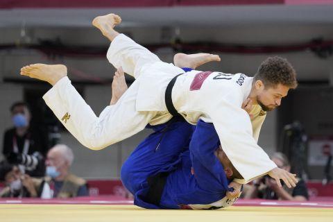 Στιγμιότυπο από αγώνα τζούντο