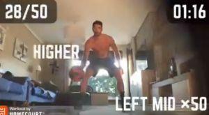 """Βιλντόσα: Τρομερό VIDEO που """"λιώνει"""" στην προπόνηση ενώ είναι σε καραντίνα"""