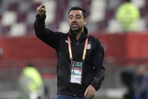 Ο Τσάβι ως προπονητής της Αλ Σαντ
