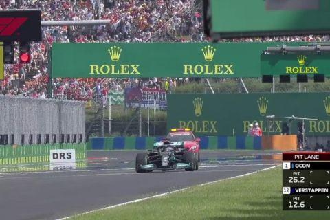 Formula 1, Grand Prix Ουγγαρίας: Απίστευτο φιάσκο της Mercedes, επανεκκίνησε μόνος ο Λούις Χάμιλτον