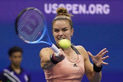 Η Σάκκαρη στο US Open