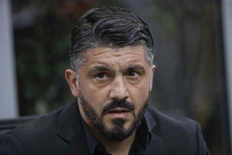 Ο Τζέναρο Γκατούζο ως προπονητής της Μίλαν