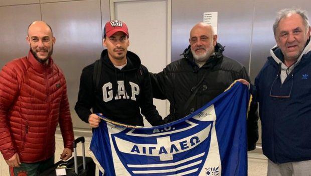 Η άφιξη του Μπλάνκο στην Αθήνα για το Αιγάλεω