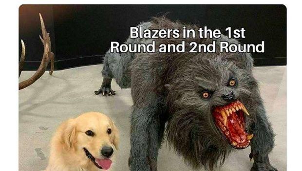 Μαζικό τρολάρισμα στους Μπλέιζερς - NBA