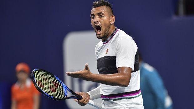 Ο Κύργιος τσακώθηκε με θεατή στο Miami Open (VIDEO)