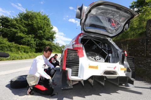 WRC: H Toyota αναζητά την ταχύτητα στο χώμα ενόψει Σαρδηνίας