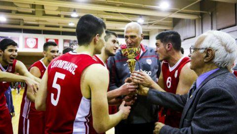 Πρωταθλητές οι έφηβοι του Ολυμπιακού