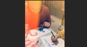 Σπανούλης: Περνάει την καραντίνα ζωγραφίζοντας με τα παιδιά του