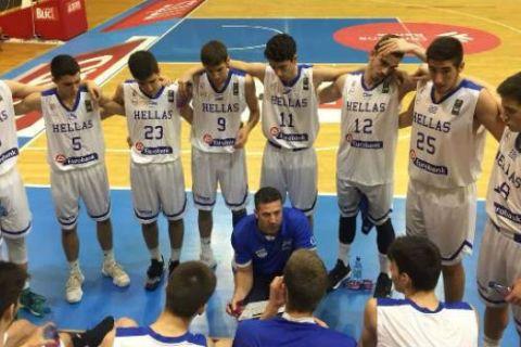 Θετικό πρόσημο για την Εθνική Παίδων στο Νόβι Σαντ, 58-55 την Τουρκία