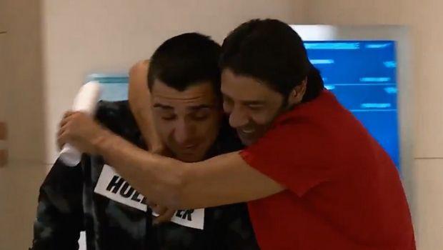 Η αποκάλυψη του Benfica TV: Αγκαλιές και φιλιά Κατσουράνη - Ρούι Κόστα (VIDEO)
