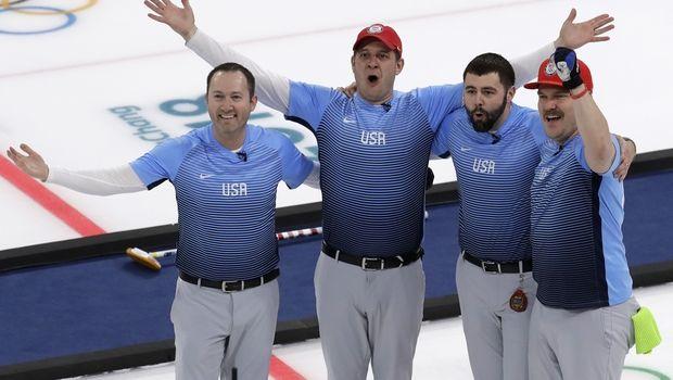 Χρυσό οι Ηνωμένες Πολιτείες στο curling ανδρών