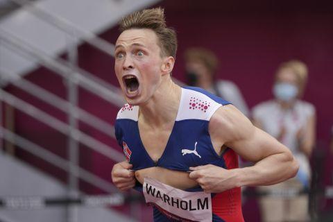 Ο Βάρχολμ έκανε ένα αδιανόητο παγκόσμιο ρεκόρ στα 400μ. με εμπόδια