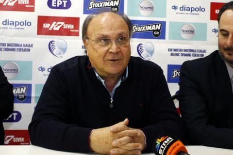 Ο Δημήτρης Διαθεσόπουλος σε συνέντευξη Τύπου