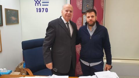"""Βασιλακόπουλος: """"Ο Πιτίνο θα είναι στην Εθνική, θα είμαι υποψήφιος και το 2020"""""""