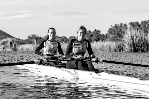 Μαρία Κυρίδου και Χριστίνα Μπούρμπου σε φωτογράφιση για το SPORT24