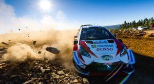 Η τριπλέτα της Toyota επικεφαλής στο ράλι Πορτογαλίας
