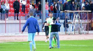 Νίκη Βόλου: Οπαδός μπήκε στο γήπεδο και αφαίρεσε το περιβραχιόνιο του Αποστολίδη