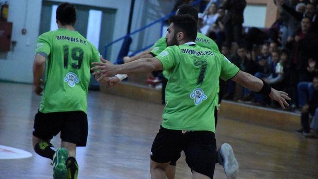 Handball Premier: Ο Διομήδης πέταξε εκτός τετράδας τον Αερωπό