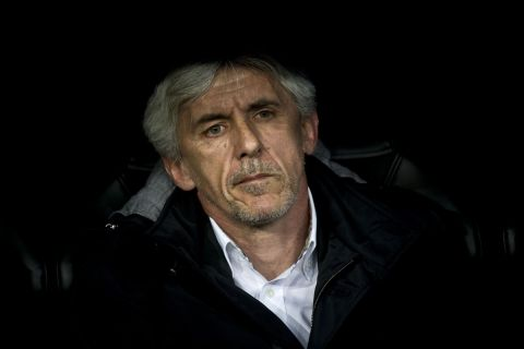 Ο Ιβάν Γιοβάνοβιτς, ως προπονητής του ΑΠΟΕΛ στην αναμέτρηση με τη Ρεάλ για τα προημιτελικά του Champions League