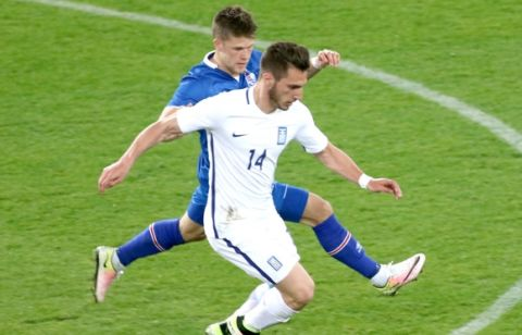 Πίσω έμπαζε η Εθνική, με ανατροπή 3-2 η Ισλανδία
