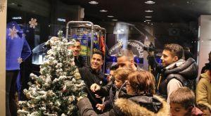 Αστέρας: Στόλισαν το δέντρο παίκτες και κόσμος