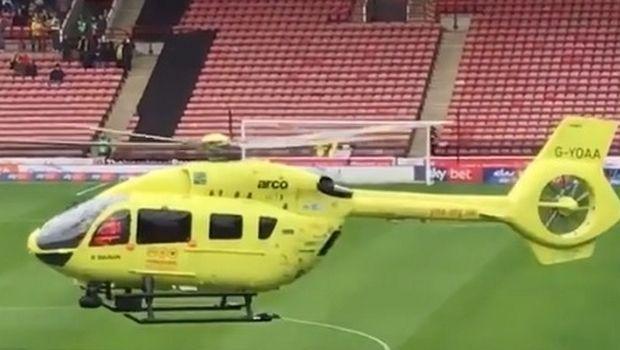 Αναβλήθηκε ματς στην Αγγλία για να διακομιστεί φίλαθλος σε νοσοκομείο