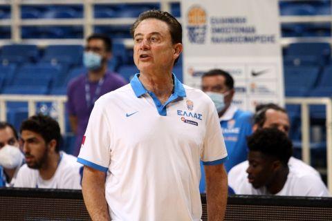 Ο ομοσπονδιακός τεχνικός της Εθνικής Μπάσκετ, Ρικ Πιτίνο