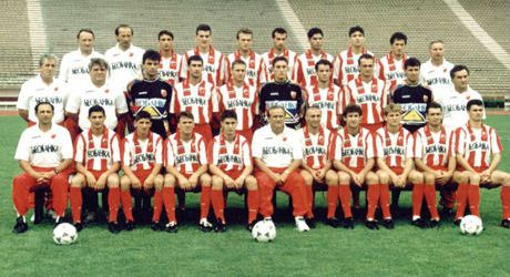 Sezona 1992/93 (Champions League, UEFA Cup, Cup Winner's Cup) Redstar1995