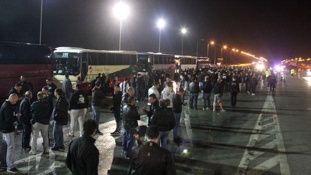 Στις 05:00 η αναχώρηση των οπαδών του ΠΑΟΚ από τη Θεσσαλονίκη