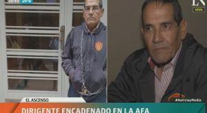 Αντιπρόεδρος στην Αργεντινή αλυσοδέθηκε στην πόρτα της Ομοσπονδίας