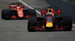 GP Σιγκαπούρης (FP1): Ταύρος ο Ricciardo