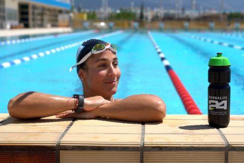 """Νόρα Δράκου στο SPORT24: """"Νιώθω ευγνώμων για αυτά που έχω ζήσει στην κολύμβηση"""""""