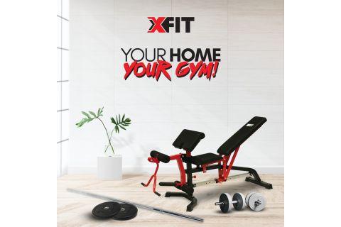 Φτιάξε το προσωπικό σου γυμναστήριο με όργανα γυμναστικής και αξεσουάρ X-FIT.