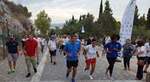 Αυγενάκης: Βρήκε χρόνο για τρέξιμο μαζί με Ολυμπιονίκες και Πρωταθλητές