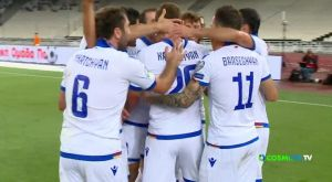 Ελλάδα – Αρμενία: Το 0-1 με τον Καραπετιάν στο 8ο λεπτό