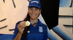 """Αννέτα Κυρίδου: """"Μεγαλύτερη αξία το φετινό χρυσό μετάλλιο"""""""