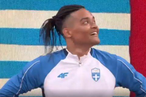 Ολυμπιακοί Αγώνες, Στίβος: Άναυδος και με ένα πλατύ χαμόγελο ο Καραλής στην παρουσίασή του στον τελικό του επί κοντώ