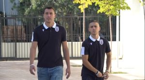 ΠΑΟΚ: Πέλκας και Ζίβκοβιτς σε κοινωνική αποστολή