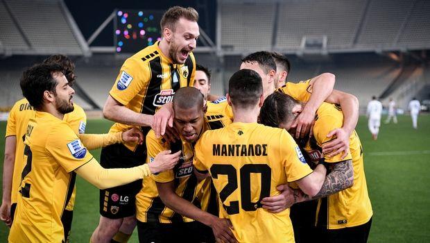 ΑΕΚ - Ατρόμητος 3-0: Με πειστική εμφάνιση στα ημιτελικά του Κυπέλλου