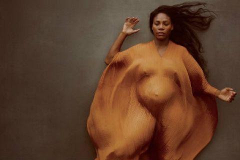 Πόζαρε γυμνή στο Vanity Fair η έγκυος Σερένα Ουίλιαμς