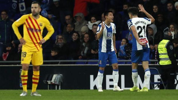 Εσπανιόλ - Μπαρτσελόνα 2-2: Ο Αμπελάρδο σταμάτησε τους μπλαουγκράνα