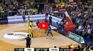 VIDEO: Το ρεσιτάλ του Πιέρια Χένρι στους τελικούς με τη Φενέρμπαχτσε