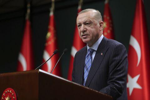 Ο πρόεδρος της Τουρκίας, Ταγίπ Ερντογάν