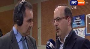Ψαρράκης: «Ίσως συμμετάσχω στις εκλογές του ΕΣΑΚΕ»
