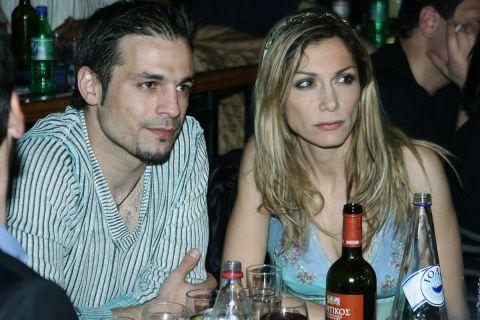 Οι Ντέμης Νικολαΐδης και Δέσποινα Βανδή από κοινή τους έξοδο