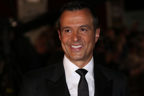 Jorge Mendes poses for photographers upon arrival at the world premiere of the film 'Ronaldo, in London, Monday, Nov. 9, 2015. (Photo by Joel Ryan/Invision/AP)