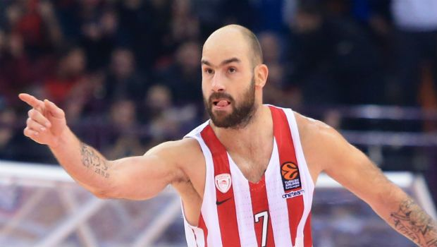 Ολυμπιακός - ΤΣΣΚΑ: Ο Σπανούλης συμπλήρωσε 300 συμμετοχές στην EuroLeague
